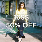 16SS 50% OFF