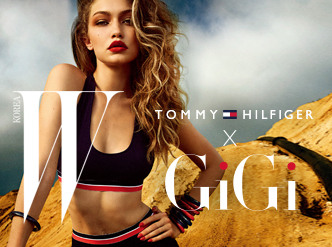 TOMMY X GIGI by TOMMY HILFIGER with W Magazine