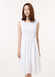 Picasso burnout dress