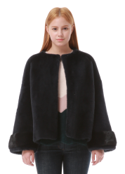Lunar fur jumper