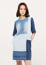 3concept denim dress