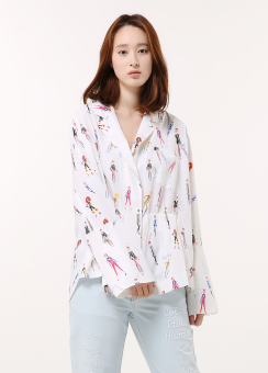 Quini rc blouse