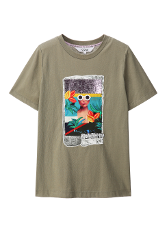 Mac collage t-shirts