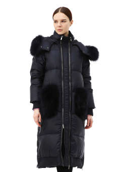 Tinct padding coat