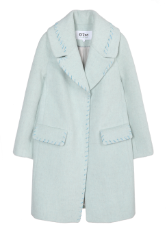 Marina stitch coat