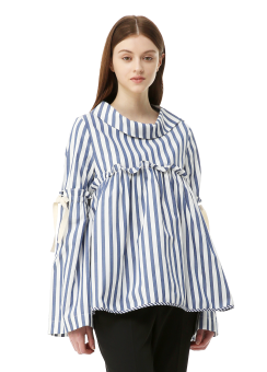 Sera sleeve ribbon blouse