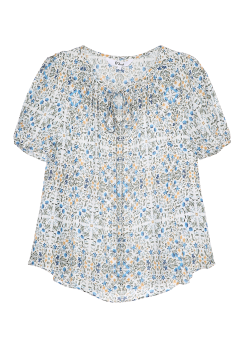 Daian flower blouse