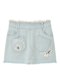 Loha denim skirt