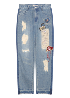 Loathly denim pants