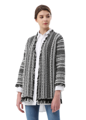 Focus knit cardigan