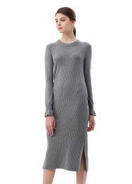 Sharm old dyed knit dress