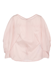 Pony puff blouse