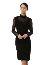 Caudalie lace dress