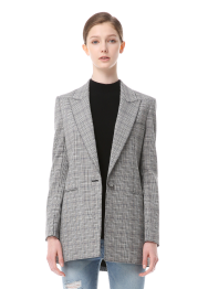 Burtsbee check jacket
