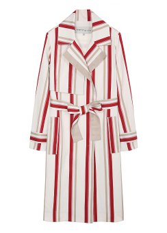 Stripe color coat