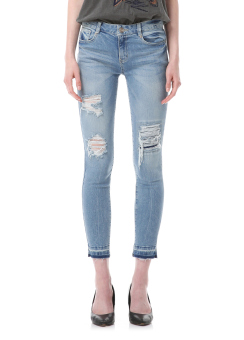 Vintage skinny denim pants