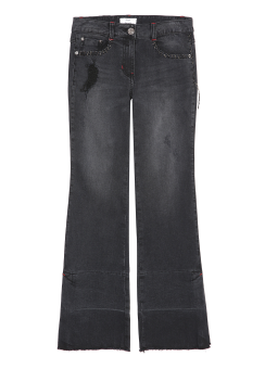 Shadow denim pants