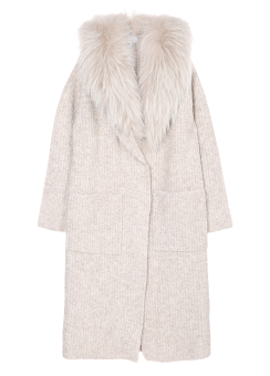 Spuma knit coat