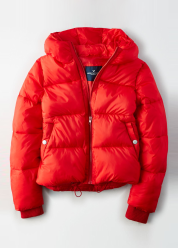 [Women] 2329 Boxy short puffer