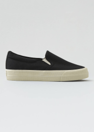 [Women] Double gore slip on sneaker platform