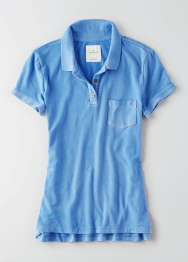 [Women] 4445 Pocket polo t-shirts