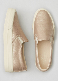 [Women] Double gore slip on platform
