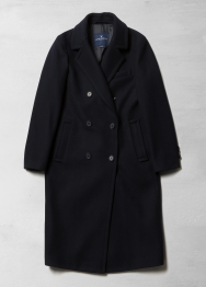 [Women] Double wool coat