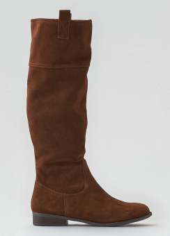 AEO Suede Riding Boot