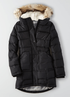 [Women] Blizzard long parka in rl down