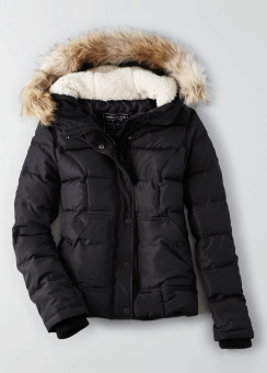 [Women] Weekend puffer in real down padding