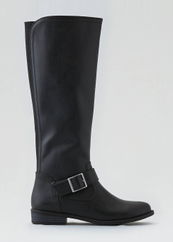 [Women] Elastic gore riding boot