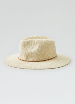 [Women] Tassel trim fedora