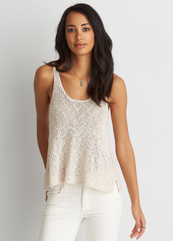 [Women] 7657 Scoop back tank