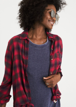 [Women] Core plaid fall BF BD
