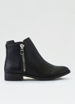 [Women] Sm chunky side zip boot