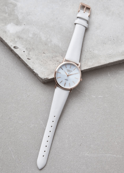 [Women] GREY & ROSE GOLD MOP WATCH