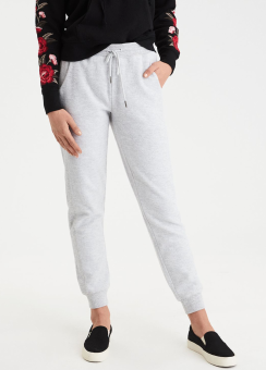 [Women] Fabric block jogger