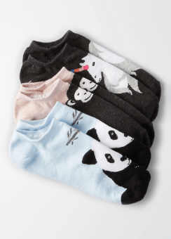 [Women] Animal shortie sock 3pk
