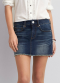 [Women] 1701 Web denim mini skirt