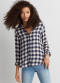 [Women] Core trans plaid fawn bd