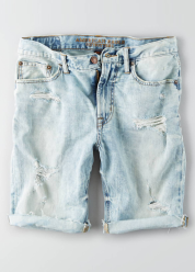 [Men] Shorts light wash