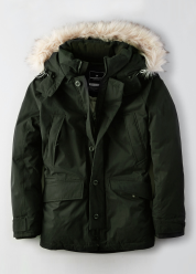 [Men] Down expedition parka