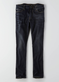 [Men] Slim dark vintage wash