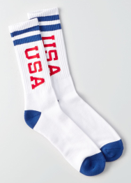 [Men] Big usa sport socks