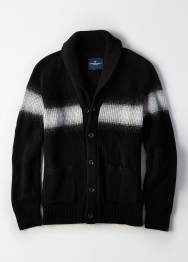 [Men] Raglan shawl cardigan