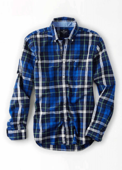 [Men] 9048 SLIM FIT PREP PLAID POPLIN