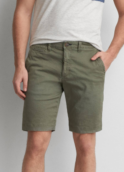 [Men] Slim ff shorts