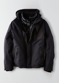[Men] Nylon weather jacket