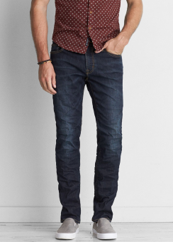 [Men] SS Dark wash
