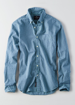 [Men] SF Poplin plaid